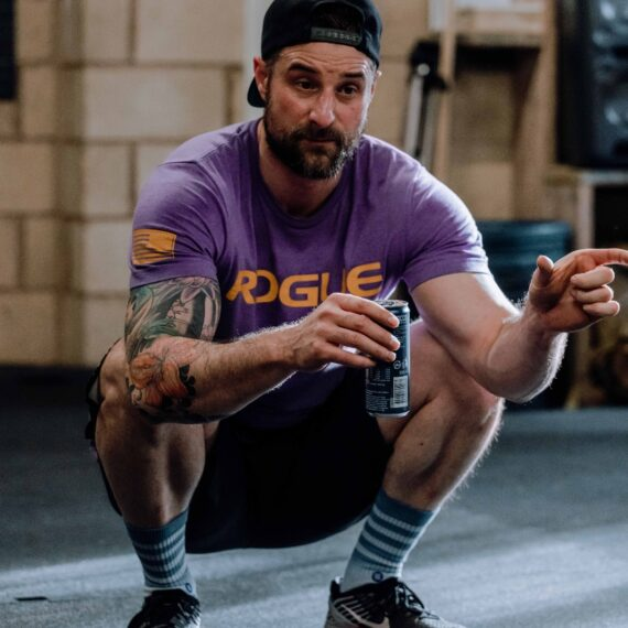 I had my first taster session 6 years ago at CrossFit Coventry when I was running quite a lot so, thought I was 'fit'. Turns out I wasn't and got totally smashed! I then let my ego get the better of me until I found the balls to go to CrossFit Redditch just over a year later and the rest as they say, is history. Some may say I'm the class clown but behind all that I'm dedicated and truly believe in the CrossFit methodology. CrossFit has helped me develop a whole new approach to life in general and I'm so much happier because of it, that's why I want to coach and help other people experience the journey. We can do this together, in the IMCF community. My favourite movement is Snatch, my least favourite is Bar Over Burpees and my favourite food is my mother-in-law's Christmas cake.